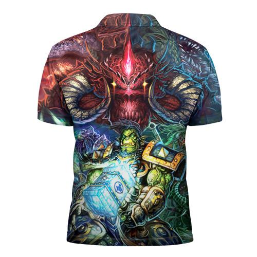 Мужская рубашка поло 3D Blizzard 1 Фото 01