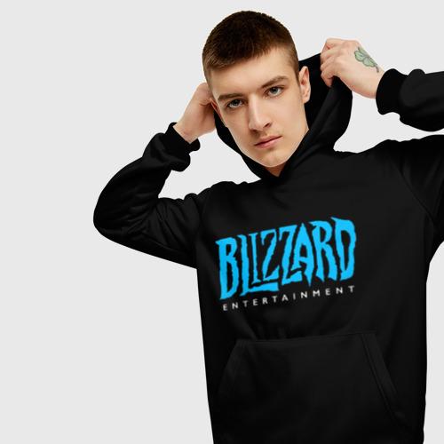 Мужская толстовка 3D Blizzard 2 Фото 01