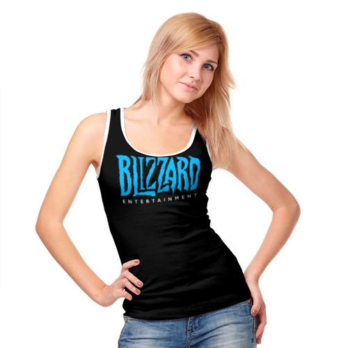 Женская майка 3D  Фото 05, Blizzard 2