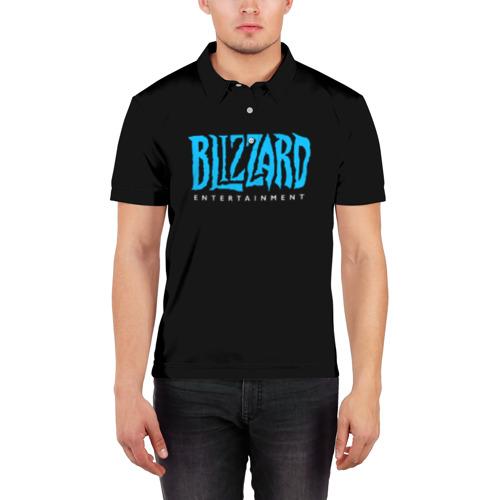 Мужская рубашка поло 3D Blizzard 2 Фото 01