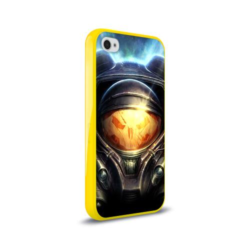 Чехол для Apple iPhone 4/4S силиконовый глянцевый StarC 2 Фото 01