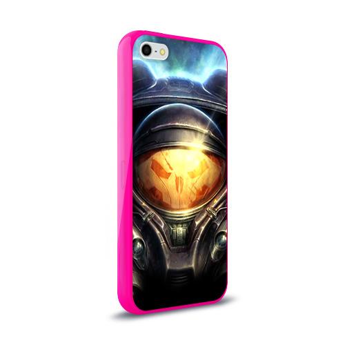 Чехол для Apple iPhone 5/5S силиконовый глянцевый StarC 2 Фото 01