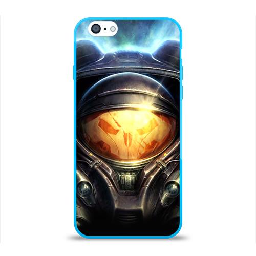 Чехол для Apple iPhone 6 силиконовый глянцевый StarC 2 Фото 01