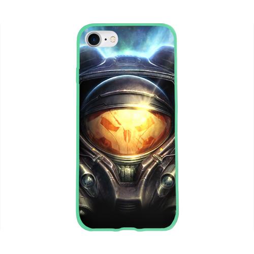 Чехол для Apple iPhone 8 силиконовый глянцевый StarC 2 Фото 01
