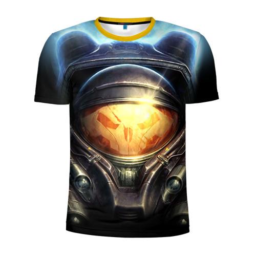 Мужская футболка 3D спортивная StarC 2 Фото 01