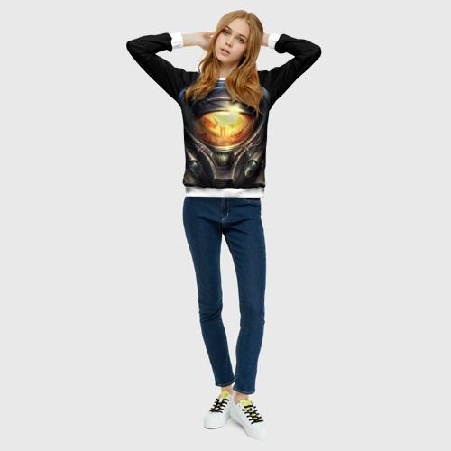 Женский свитшот 3D StarC 2 Фото 01