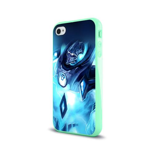 Чехол для Apple iPhone 4/4S силиконовый глянцевый StarC 4 Фото 01