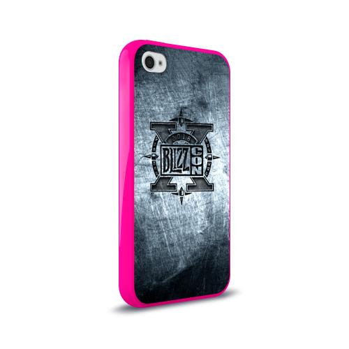 Чехол для Apple iPhone 4/4S силиконовый глянцевый BlizzCon 2 Фото 01