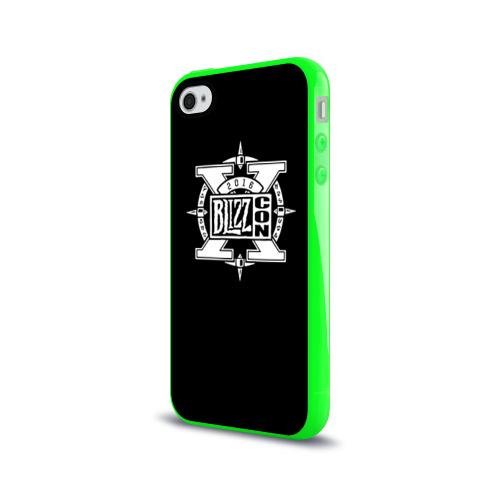 Чехол для Apple iPhone 4/4S силиконовый глянцевый BlizzCon 3 Фото 01