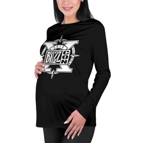 Женский лонгслив 3D для беременных BlizzCon 3 Фото 01