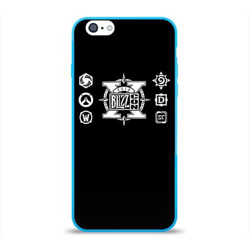 Чехол для Apple iPhone 6 силиконовый глянцевый BlizzCon 4 Фото 01