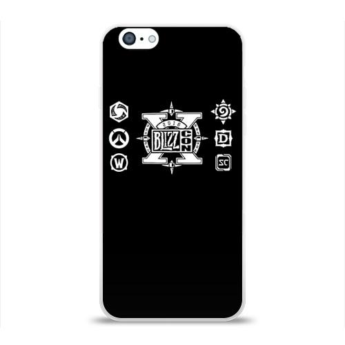 Чехол для Apple iPhone 6 силиконовый глянцевый  Фото 01, BlizzCon 4