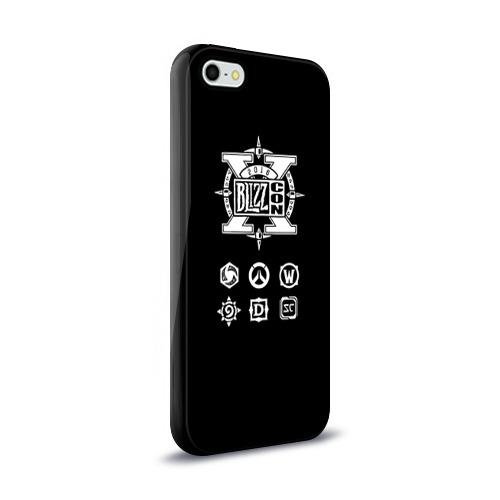 Чехол для Apple iPhone 5/5S силиконовый глянцевый  Фото 02, BlizzCon 5