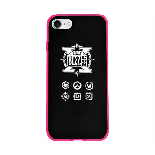Чехол для Apple iPhone 8 силиконовый глянцевый BlizzCon 5 Фото 01