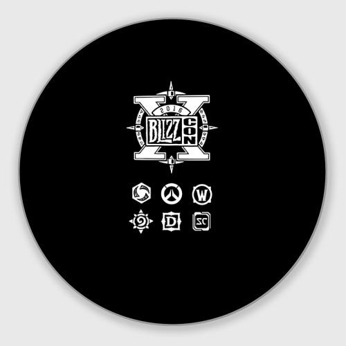 Коврик для мышки круглый BlizzCon 5 Фото 01