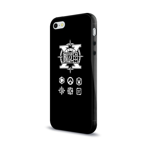 Чехол для Apple iPhone 5/5S силиконовый глянцевый  Фото 03, BlizzCon 5