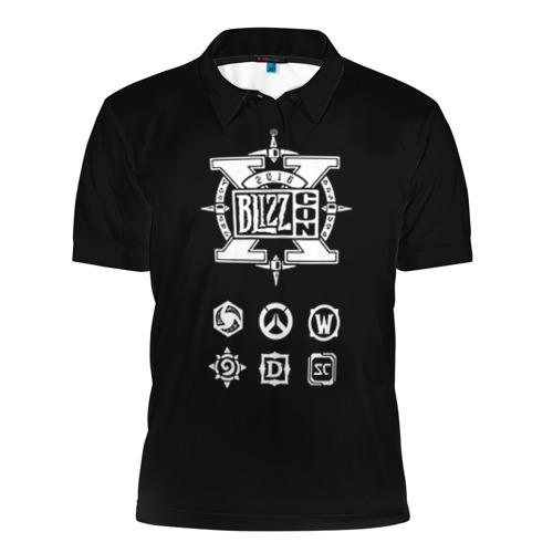 Мужская рубашка поло 3D BlizzCon 5 Фото 01