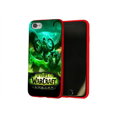 Чехол для Apple iPhone 8 силиконовый глянцевый WarC Фото 01