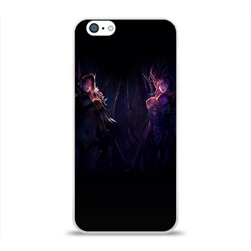 Чехол для Apple iPhone 6 силиконовый глянцевый  Фото 01, Blizzard 3