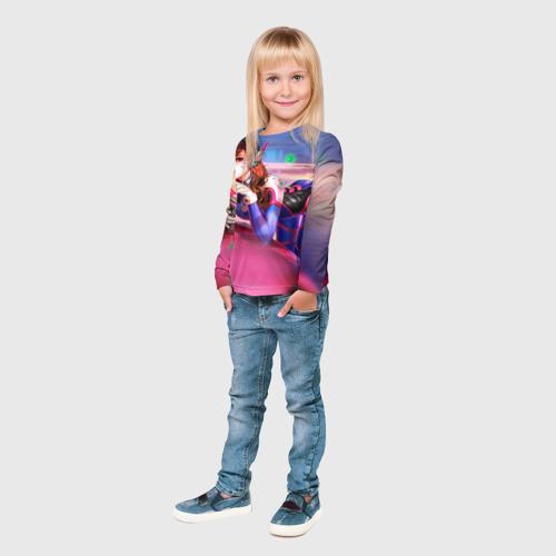 Детский лонгслив 3D Overwatch 10 Фото 01