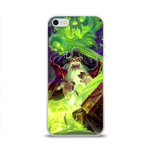 Чехол для Apple iPhone 5/5S силиконовый глянцевый  Фото 01, HS 2