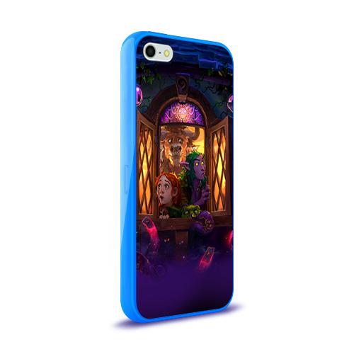 Чехол для Apple iPhone 5/5S силиконовый глянцевый  Фото 02, HS 4
