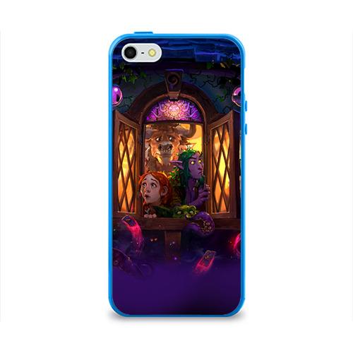 Чехол для Apple iPhone 5/5S силиконовый глянцевый  Фото 01, HS 4