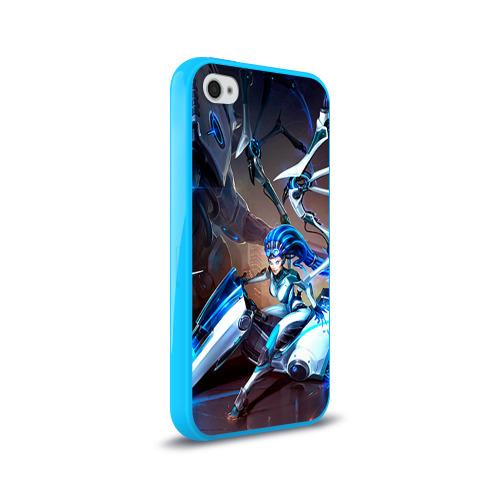 Чехол для Apple iPhone 4/4S силиконовый глянцевый Керриган Фото 01