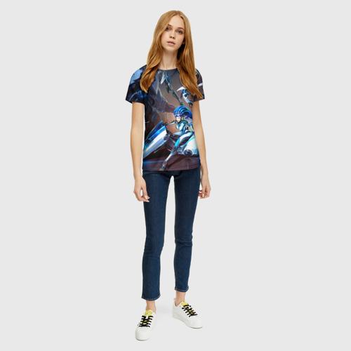 Женская футболка 3D Керриган Фото 01