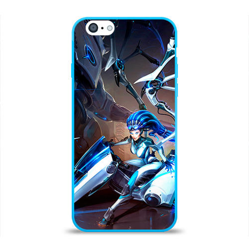 Чехол для Apple iPhone 6 силиконовый глянцевый Керриган Фото 01