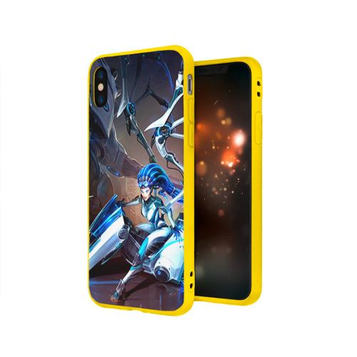 Чехол для Apple iPhone X силиконовый матовый Керриган Фото 01