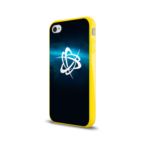 Чехол для Apple iPhone 4/4S силиконовый глянцевый BattleNet Фото 01