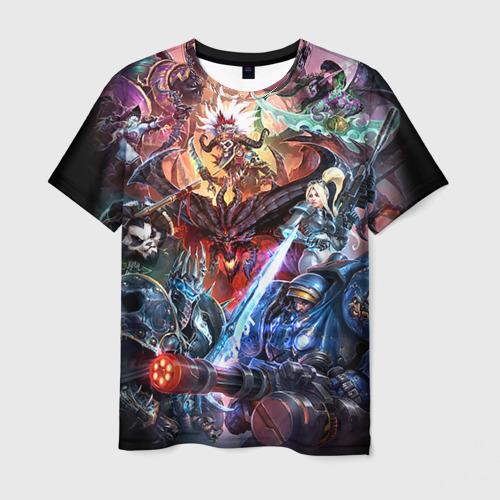Мужская футболка 3D Blizzard 7 Фото 01