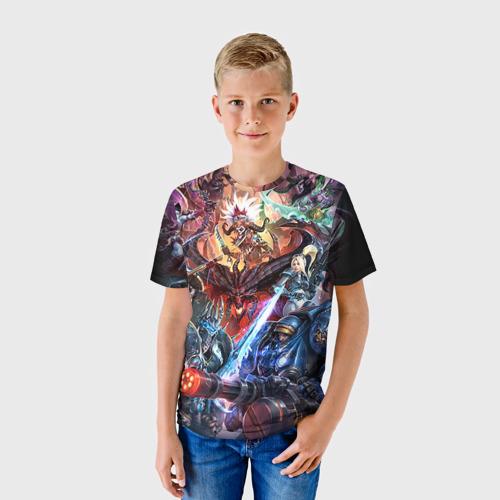 Детская футболка 3D Blizzard 7 Фото 01