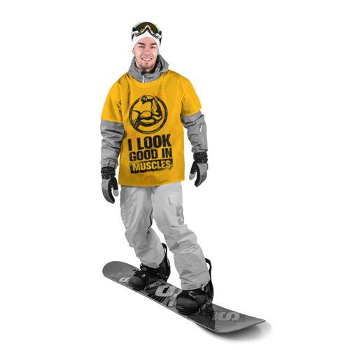 Накидка на куртку 3D  Фото 03, Bodybuilding