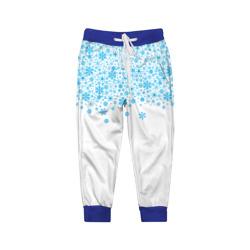 Детские брюки 3DСнежинки