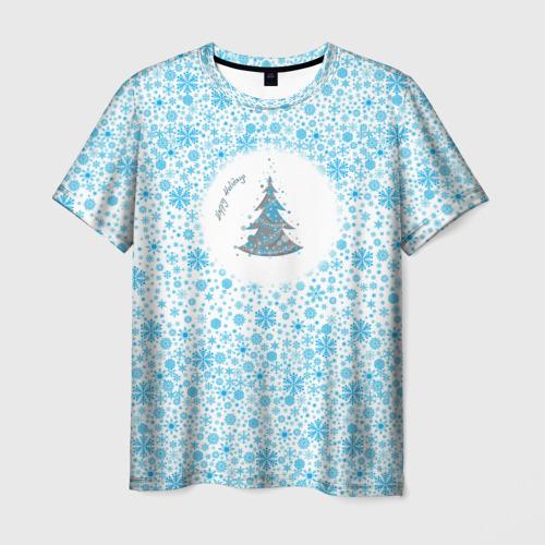 Мужская футболка 3D  Фото 01, Happy Holidays