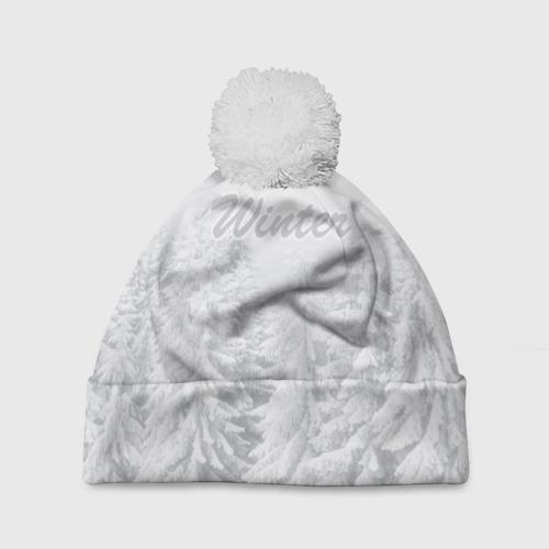 Шапка 3D c помпоном  Фото 01, Winter