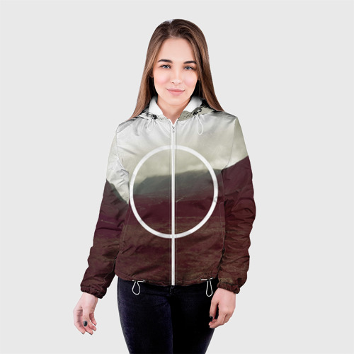 Женская куртка 3D  Фото 03, Круг