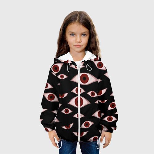 Детская куртка 3D Глаза Фото 01
