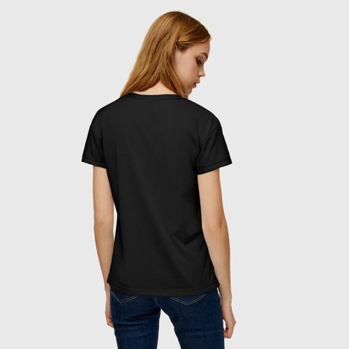 Женская футболка 3D Волк Фото 01