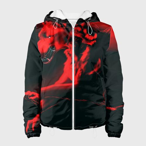 Женская куртка 3D  Фото 01, Волк