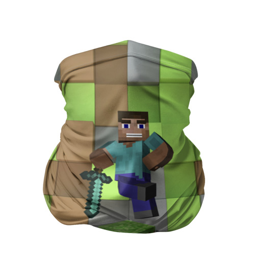 Бандана-труба 3D  Фото 01, Minecraft