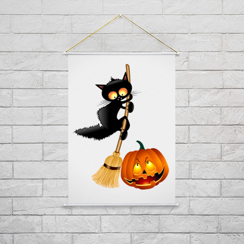 Тканевый плакат  Фото 02, Хэллоуин