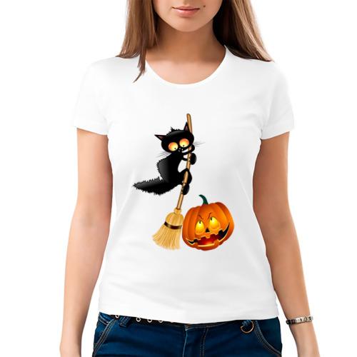 Женская футболка хлопок  Фото 03, Хэллоуин