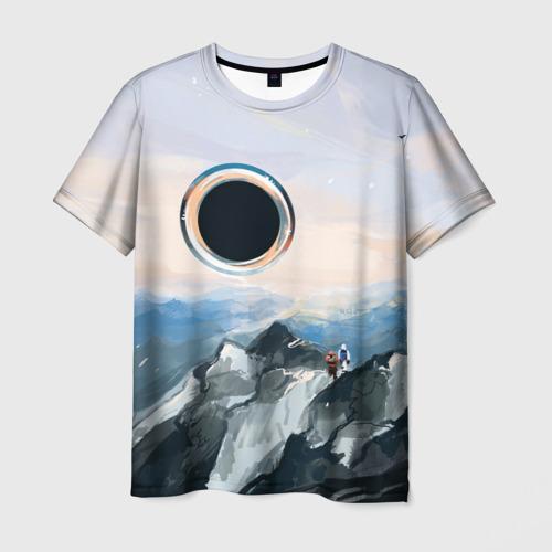 Мужская футболка 3D  Фото 01, Черная дыра