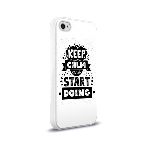 Чехол для Apple iPhone 4/4S силиконовый глянцевый  Фото 02, Мотивация