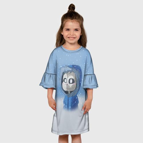 Детское платье 3D  Фото 01, Sans