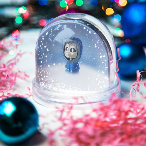 Водяной шар со снегом  Фото 03, Sans