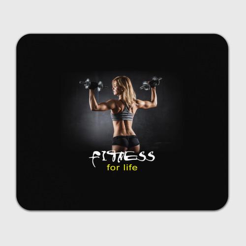 Коврик прямоугольный  Фото 01, Fitness for life